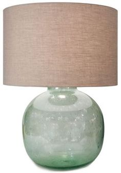 Cayman Sea Glass Lamp from Soft Surroundings