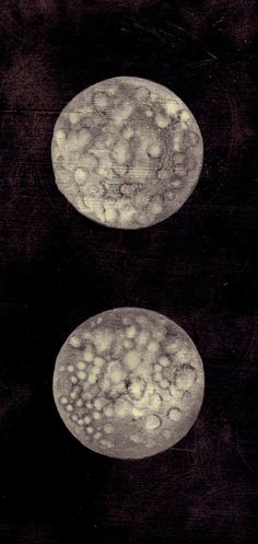 Two Moons in the Sky print, elise mahan