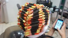 Getting A Perm, Wet Set, Permed Hairstyles, Curlers, Sushi, Hair Beauty, Long Hair Styles, Breakfast, Ethnic Recipes