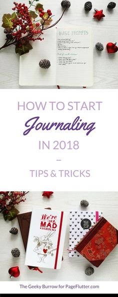 Make new year your best year ever with a 2018 journal for planning, reflection, and organization. #creativeplanning #bulletjournal #newyear
