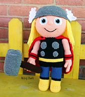Ravelry: Hammer Buddy - Kid Hero pattern by Mary Smith