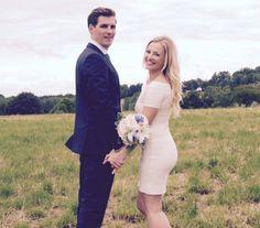 Glückliches Paar: Ania Niedieck hat ihren Chris geheiratet.