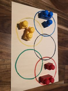 7 activities and crafts that help the kids learn about the Olympic Rings, perfect for monthly themes, parties, or a fun day at home. Olympic Games For Kids, Summer Activities For Kids, Sports Day Activities, Youth Activities, Therapy Activities, Preschool Crafts, Toddler Crafts, Crafts For Kids, Summer Sports Crafts