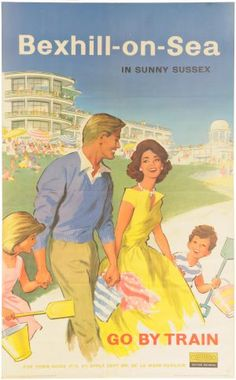 Bexhill, East Sussex poster - Would love this framed as it's where I grew up!