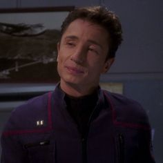 Star Trek canon character Lieutenant Malcolm Reed (Dominic Keating) was the Armory Officer/Tactical Officer on the NX-01.