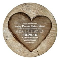 ReviewRustic carved tree wood heart wedding invitationso please read the important details before your purchasing anyway here is the best buy