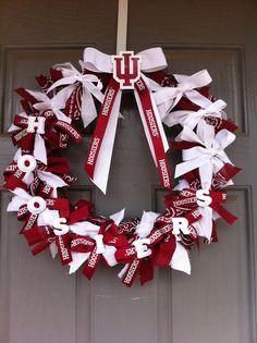 HOOSIERS wreath