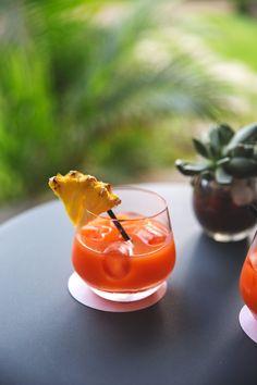 Voyage à La Reunion - Cocktail au bar Le Planteur de la Villa Delisle