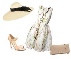 Here are some Kentucky Derby outfit ideas including hats, dresses, shoes, jewelry and bags