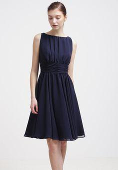 Swing Cocktailkleid / festliches Kleid - schwarz-blau - Zalando.de