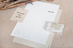 Beige corporate design & packaging - Mindsparkle Mag