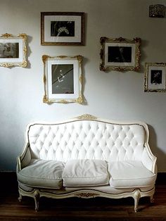 Creative photo display ideas for your home. Click through for more inspiring displays.