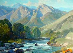 hanson puthuff paintings   Hanson Puthuff (1875 - 1972)