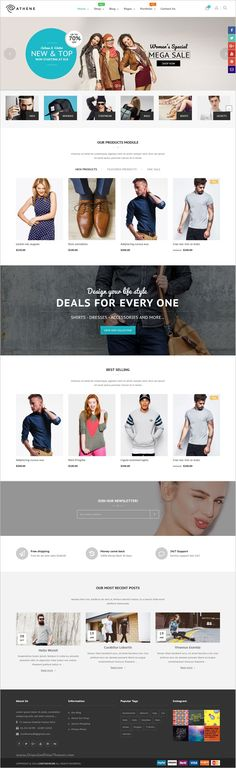 Athene is beautifully design responsive #WooCommerce #WordPress theme for stunning #fashion #store eCommerce website with 6+ unique homepage layouts download now➩ https://themeforest.net/item/athena-woocommerce-responsive-fashion-theme/18887195?ref=Datasata
