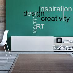 Design Creativity Sticker Wall Decal Art Home Deco Vynil Living Room Bedroom Front desk Bar decor