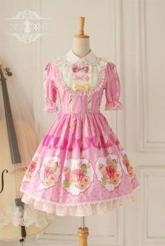 Miss Point Harajuku Fashion, Kawaii Fashion, Lolita Fashion, Cute Fashion, Fashion Outfits, Pastel Fashion, Kawaii Dress, Kawaii Clothes, Diy Clothes
