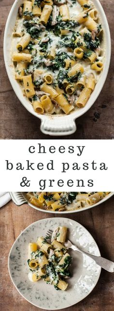 Creamy Chicken Pasta with Spinach and Fontina Cheese Creamy Baked Pasta with Chicken and Spinach – One dish and done casserole with greens, melty fontina cheese and leftover roasted chicken. Roast Chicken Pasta, Baked Chicken Marinade, Chicken Spinach Pasta, Roast Chicken Recipes, Roasted Chicken, Leftover Roast Chicken, Pasta With Chicken, Rotisserie Chicken, Best Pasta Recipes