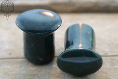 Indian Blood Stone Conch Pegs - $60.00 #laughingbuddha Conch, Body Piercing, Buddha, Surface, Stone, Jewelry, Products, Rock, Jewlery
