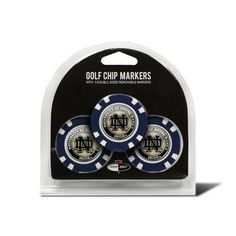 Notre Dame Fighting Irish Golf Chip with Marker 3 Pack