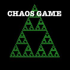 Chaos Game, Mathematics Games, Chaos Theory, Game App, Atari Logo, Teaching, Math Games, Education, Onderwijs