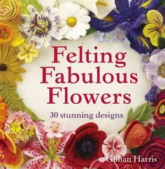 Celebrate the beauty and form of flowers with a garden-full of felt adornments! Bestselling author and designer Gillian Harris has created a bouquet of blossoms, from white daisies and lilies, to chee