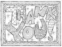 coloring pages of thank you cards coloring pages of thank you cards