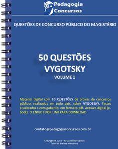 7fd2ff19020 50 Questões de Vygotsky Atividades De Alfabetização