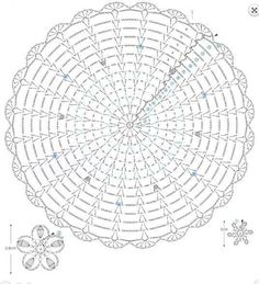 from Crochet lacework flower designLace Round Motif with Embellishments ⋆ Crochet KingdomPage 2 of 2 Doily Col Crochet, Crochet Doily Diagram, Crochet Pillow Pattern, Crochet Doily Patterns, Crochet Needles, Crochet Round, Crochet Chart, Crochet Motif, Irish Crochet