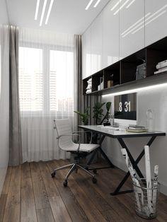 Minimalist House Design, Minimalist Home, Wardrobe Room, Bedroom Bed Design, Master Bedroom, Room Goals, My Room, Home Office, Family Room
