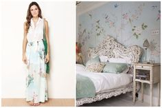 Floral: fashion x decor | http://casadasamigas.com/