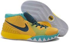 buy online c66a1 c38fb Buy New Nike Kyrie 1 Basketball Shoes Tour Yellow University Gold Light  Retro Teal from Reliable New Nike Kyrie 1 Basketball Shoes Tour Yellow  University ...