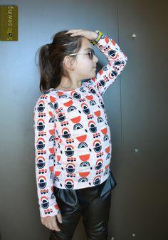 Camiseta Ruler, Ottobre Design, algodón orgánico Nosh