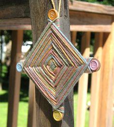 Camp Crafts   Camp Crafts: God's Eye - Crafts by Amanda