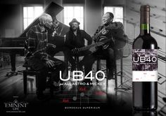 UB40 LAUNCHES RED RED WINE #Wine #Winenews