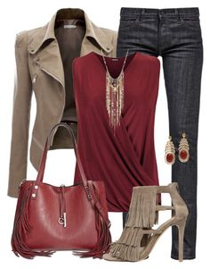 Fringe with Benefits: Jeans in the Office by jennifernoriega on Polyvore featuring polyvore, fashion, style, WearAll, Doublju, Citizens of Humanity, Steve Madden, Calvin Klein, INC International Concepts, Alexandra Alberta and clothing