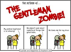 Gentleman Zombie - Cyanide and Happiness