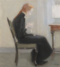 Billedresultat for helene schjerfbeck Helene Schjerfbeck, Abstract Images, Abstract Art, Mondrian, Portrait Illustration, Types Of Art, Helsinki, Figure Painting, Impressionist