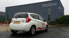 The Green I Signs Blog: New concierge vehicle graphics for Lingfield Point...