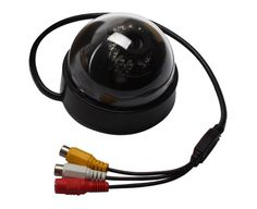 Dome CMOS Color Surveillance Security Camera with 12 IR LED Night-Vision