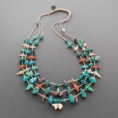 Leekya Deyuse Fetish Necklace Bears and Birds
