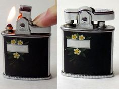 1950s Rare Ronson Lighter Princess Working by VintageTobacciana