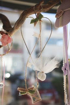 κρεμαστή διακοσμητική μπομπονιέρα Atelier Zolotas