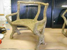 Faux Bois Chair, harmoniouspallette.com