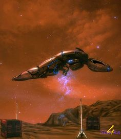 Geth Ship(Mass Effect)
