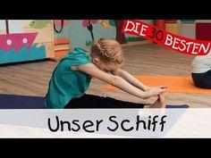 Unser Schiff - Yoga Bewegungslieder für Kinder || Kinderlieder - YouTube