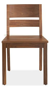 Afton Dining Chair - Linden Table with Afton Chairs - Modern Dining Room Furniture - Room & Board