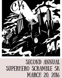 Calling all superheroes! CK FSU's 2nd Annual Superhero Scramble 5K sign-ups are now open! Register now and receive a t-shirt with this awesome design made exclusively for this event! Link to sign up is in our bio! #ckfsu #superheroscramble5k