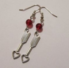 Earrings  Handmade  Valentine's Day My Love Arrow