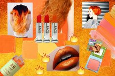 ON FIYAH! Ain't nothing like a fiery orange to inject a little energy into your day! Check our our instagram for more! Orange Color, Colour, Peach Aesthetic, Orange You Glad, Mood, Photo And Video, Face, Check, Instagram