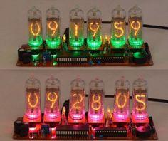 Nixie Clock Kit For In 14 Nixie Tubes Gps Synchronisation Option